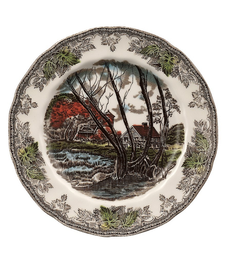 Johnson Brothers Friendly Village Round Salad Plate