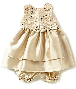 Jayne Copeland Baby Girls 3-24 Months Double Tiered Dress