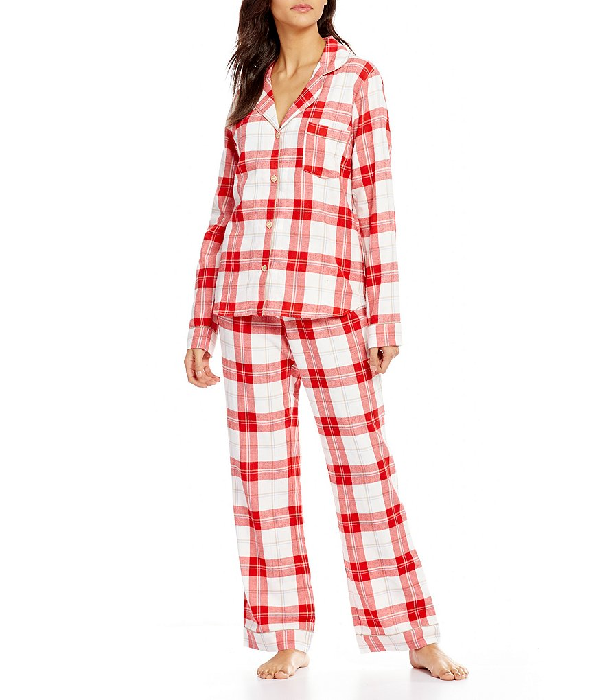 UGG® Raven Plaid Flannel Pajamas