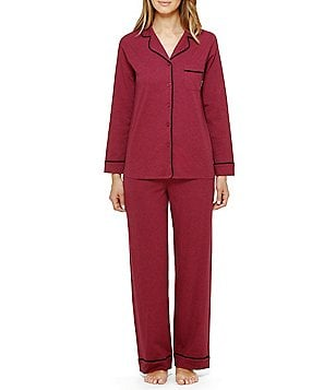 DKNY Jersey 2-Piece Pajamas Set