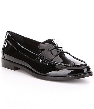 Lauren Ralph Lauren Barrett Patent Leather Slip-On Loafers