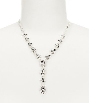 Cezanne Rhinestone Wing Links Y-Necklace