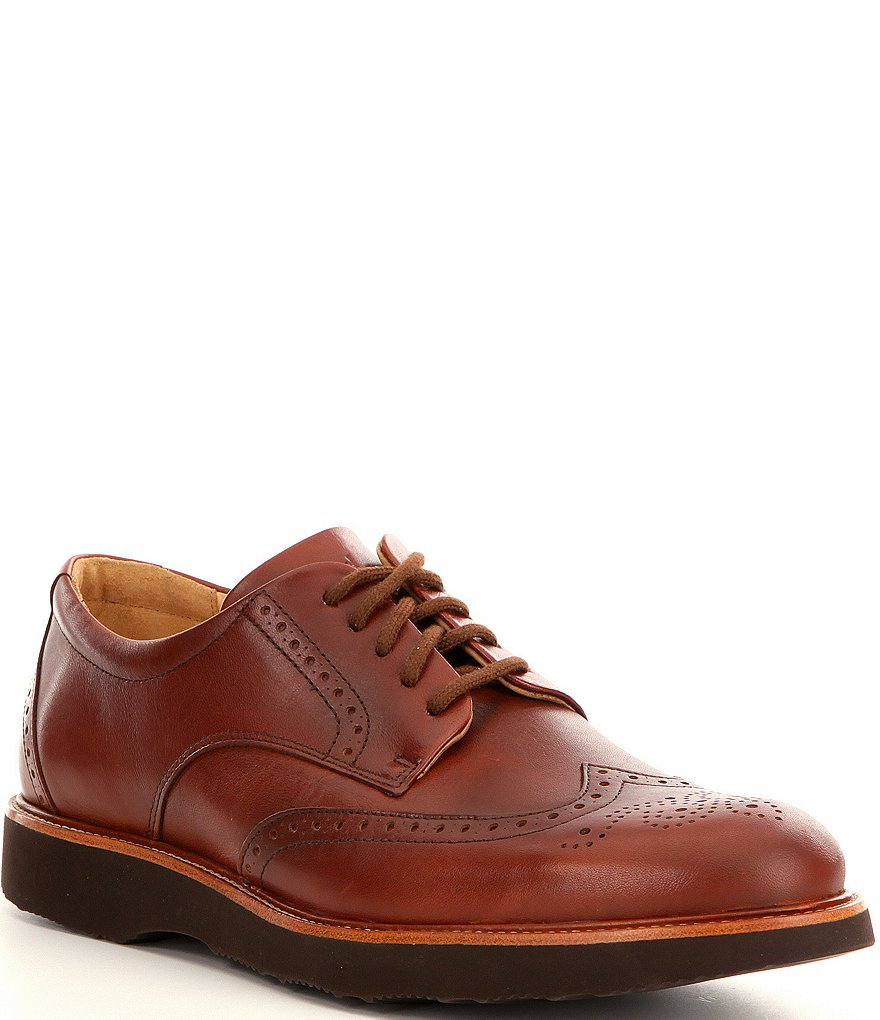 Samuel Hubbard Men´s Tipping Point Leather Wingtip Oxfords