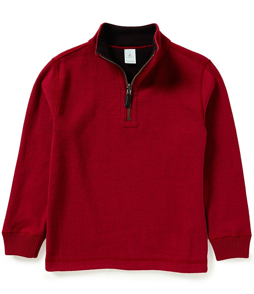 Class Club Little Boys 2T-7 Reversible Pullover Long-Sleeve Sweater