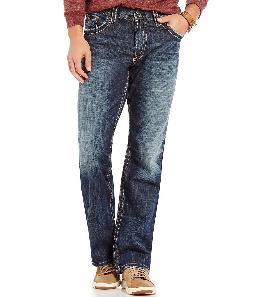 Silver Jeans Co. Gordie Loose-Fit Straight Leg Jeans