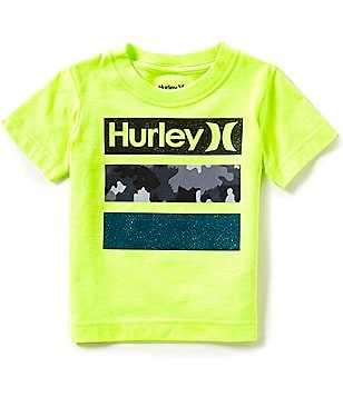 Hurley Little Boys 2T-7 Take Flight Short-Sleeve Graphic Tee