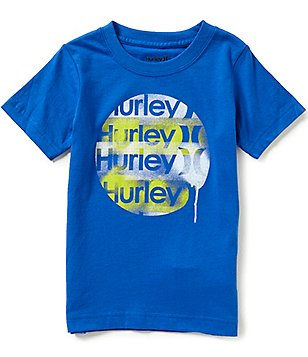 Hurley Little Boys 2T-7 Sprayder Short-Sleeve Tee