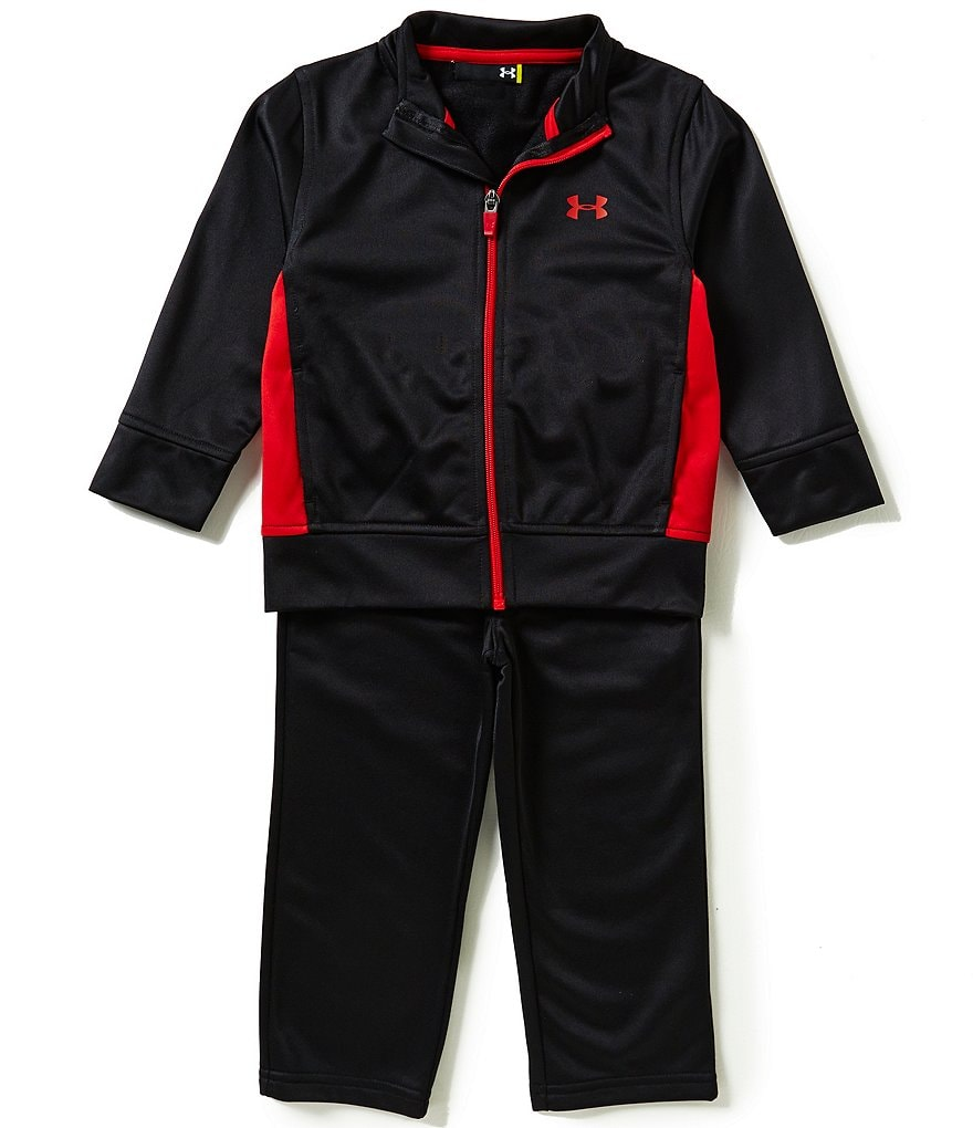 Under Armour Little Boys 2T-7 Legendary Track Jacket and Tricot Pants Set