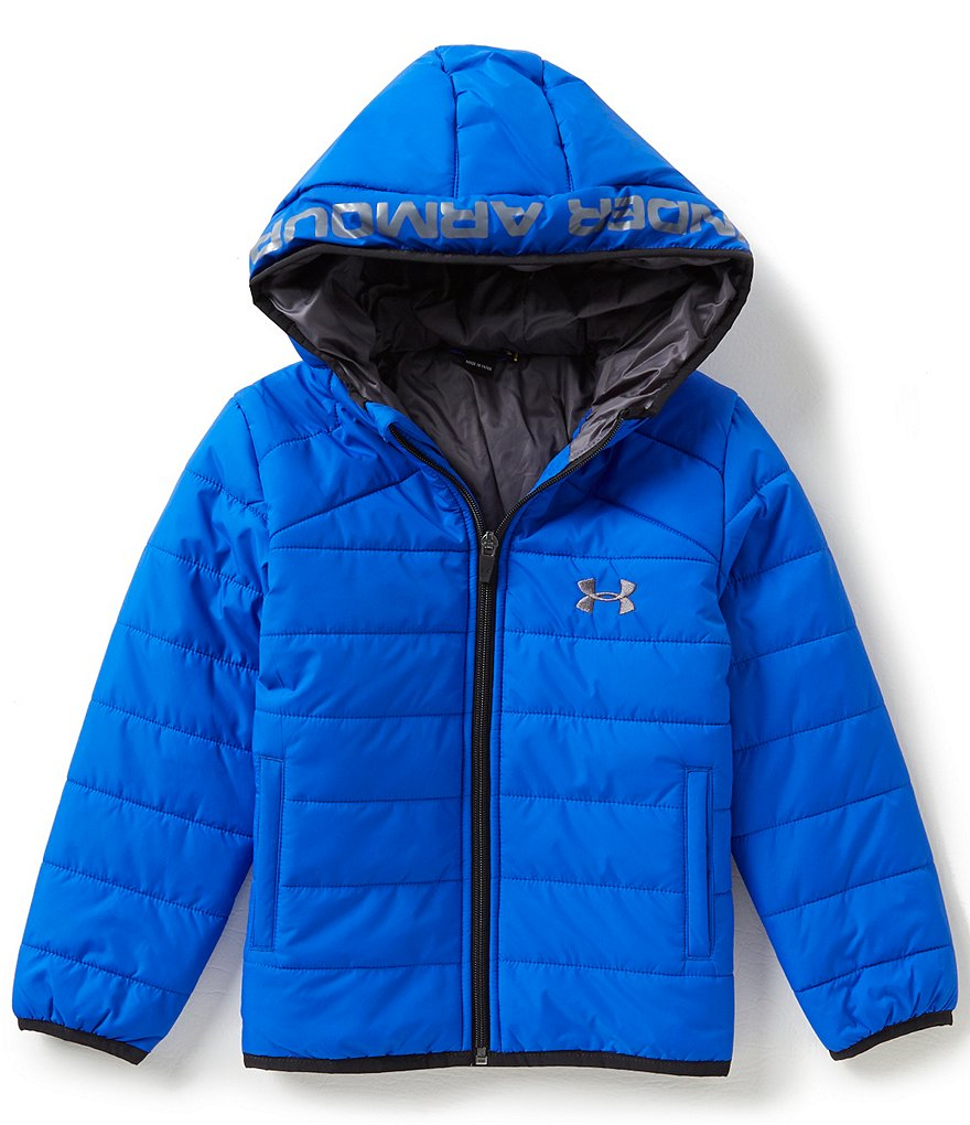 Under Armour Little Boys 4-7 Feature Hooded Puffer Jacket