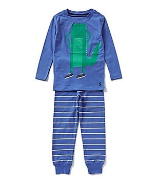 Joules Little Boys 3-6 Graphic-Print Pajama Top and Bottom Set