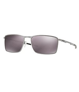 Oakley Lead Prizm Daily Polarized Mirrored Rectangle Sunglasses