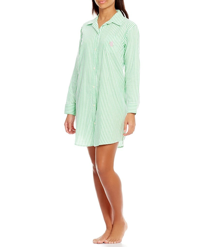 Lauren Ralph Lauren His Shirt Striped Sleepshirt