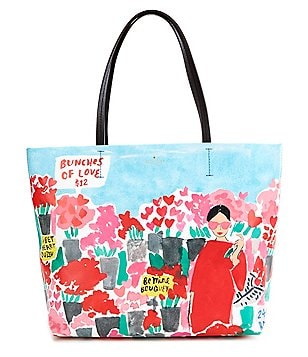 kate spade new york Be Mine Collection Hallie Rose Market Tote