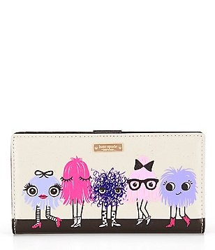 kate spade new york Imagination Monster Party Stacy Continental Wallet