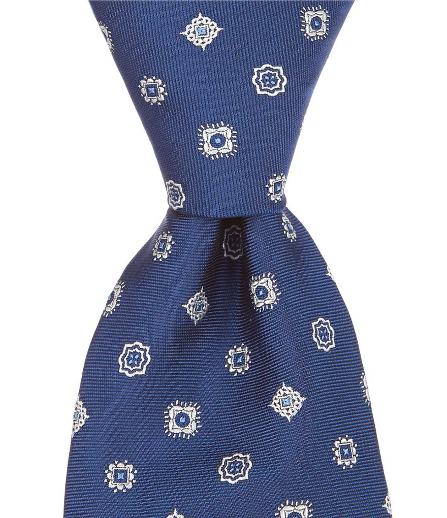 Brooks Brothers Multi Medallion Traditional Silk Tie