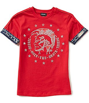 Diesel Big Boys 8-16 Tait Short-Sleeve Graphic Tee