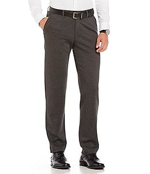 Armani Exchange Ponte Flat-Front Pants