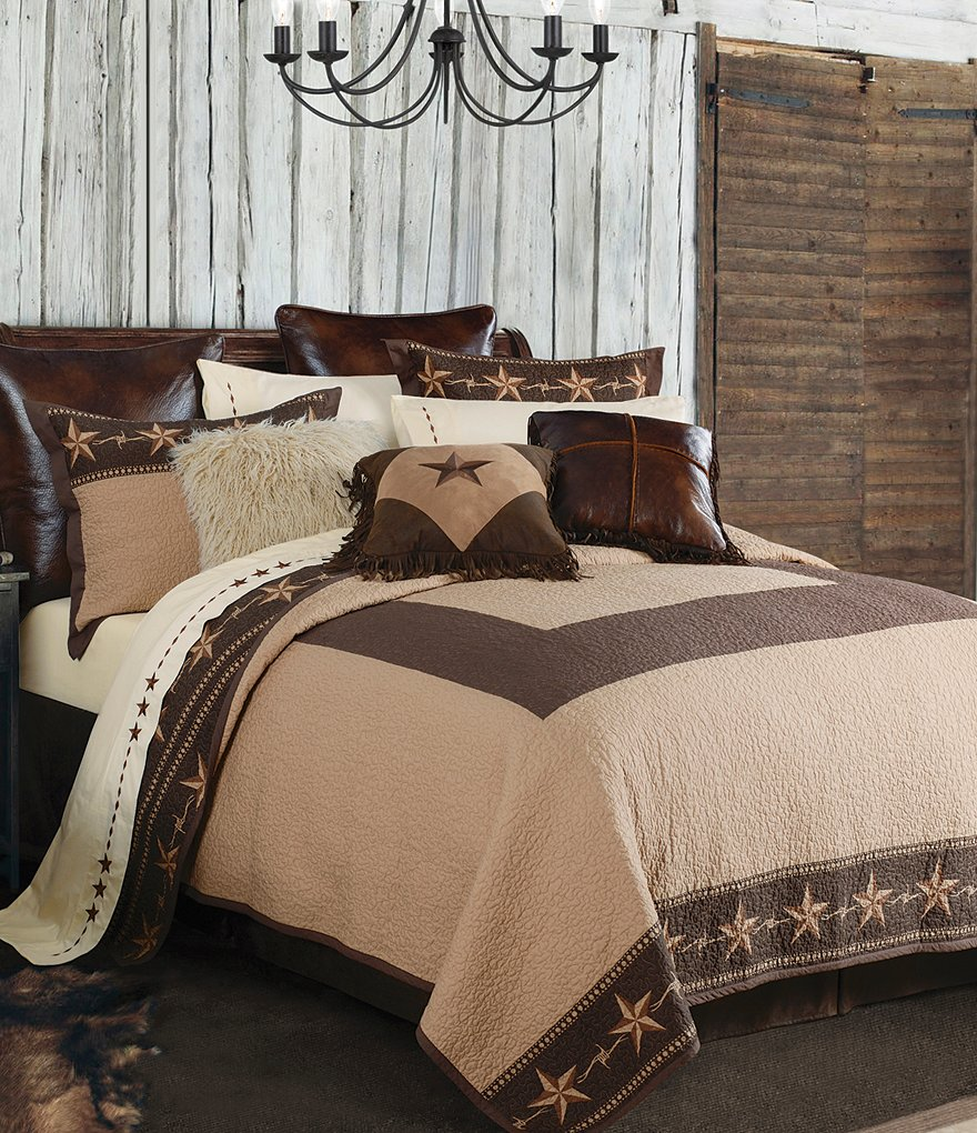 HiEnd Accents Star Ranch Reversible Quilt Mini Set