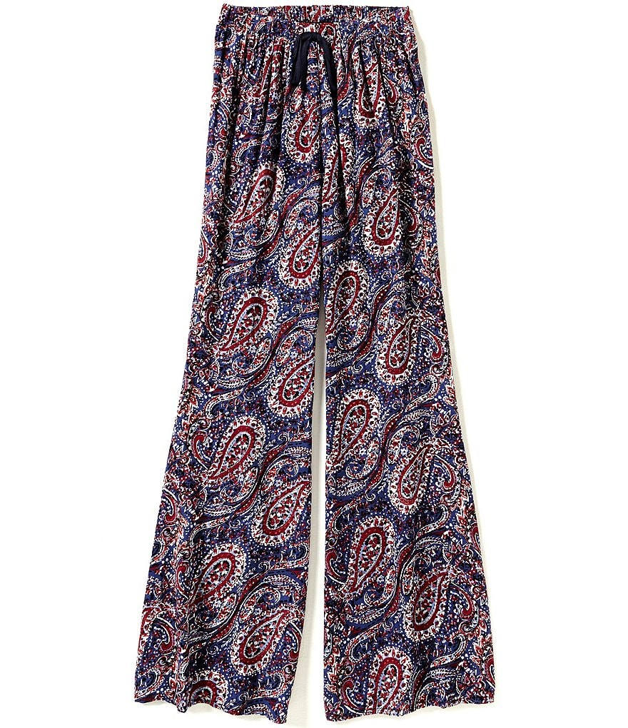 Zoe & Rose by Band Of Gypsies Big Girls 7-16 Paisley Pants