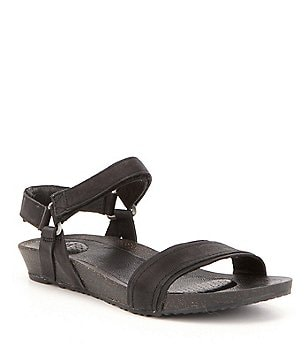Teva Women´s Ysidro Leather Banded Ankle Strap Stitch Sandals