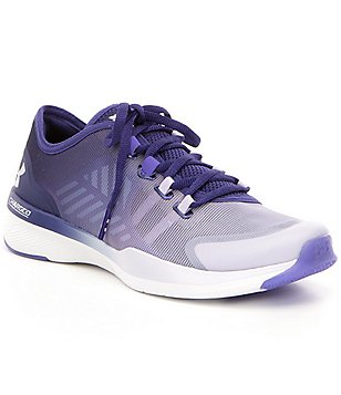 Under Armour Women´s Charged Push TR Breathable Mesh Lace Up Training Shoes
