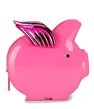 kate spade new york Imagination Collection Flying Pig Coin Purse