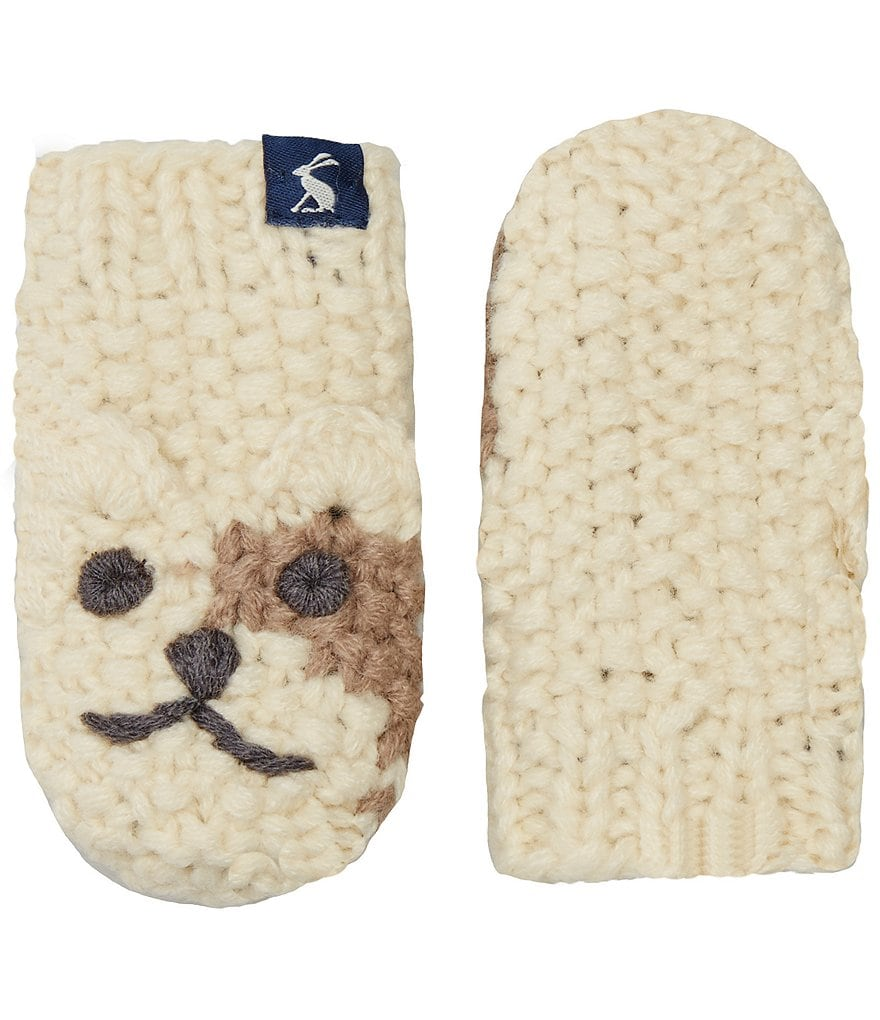 Joules Boys Hand Stitched Character Mittens