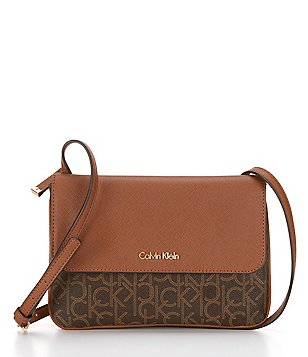 Calvin Klein Hudson Monogram Cross-Body Bag