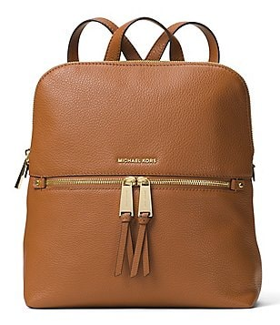 MICHAEL Michael Kors Rhea Slim Zip Backpack