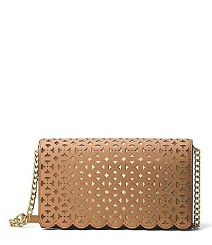 MICHAEL Michael Kors Desi Perforated Large Cross-Body Bag