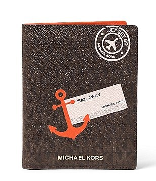MICHAEL Michael Kors Signature Sail Away Passport Case