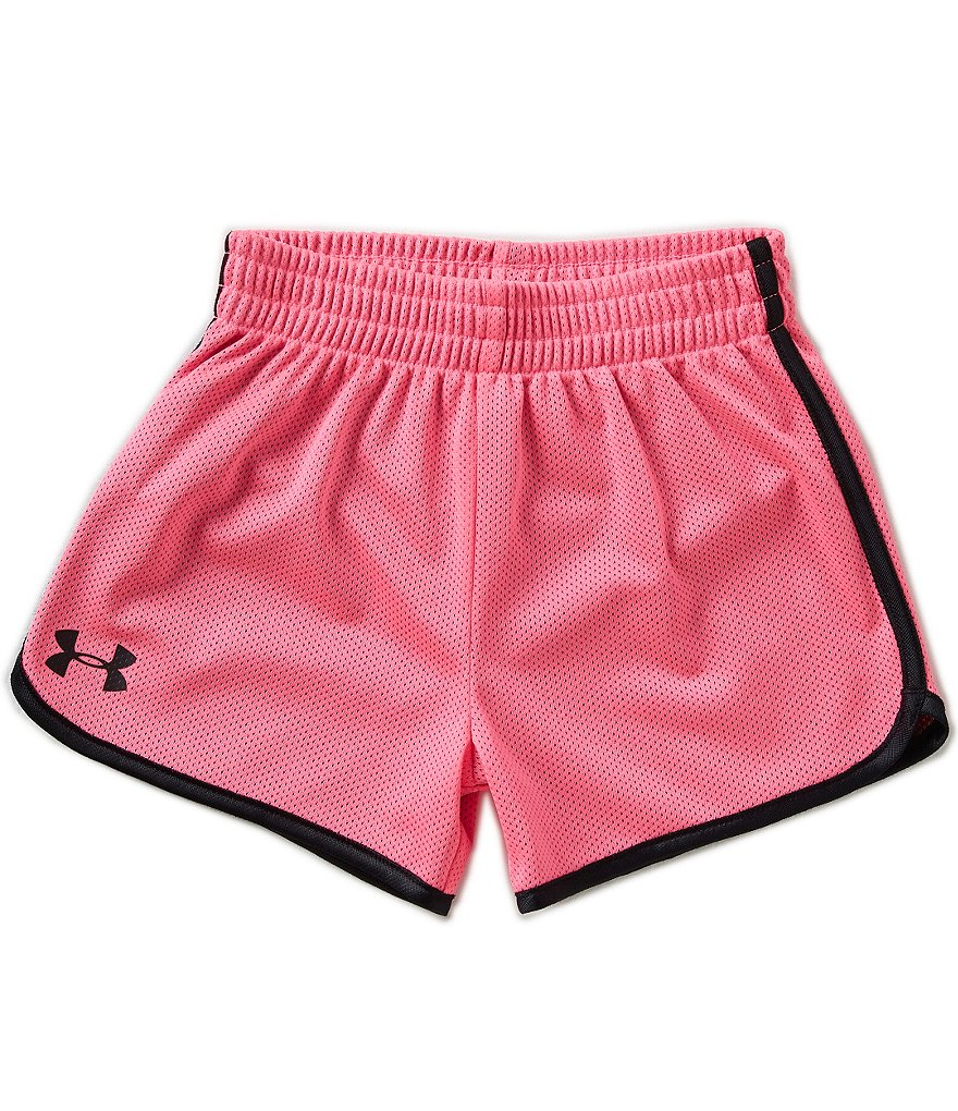 Under Armour Little Girls 2T-6X Essential Mesh Shorts