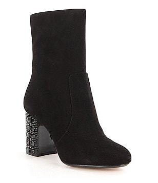 MICHAEL Michael Kors Yoonie Suede Ankle Boots