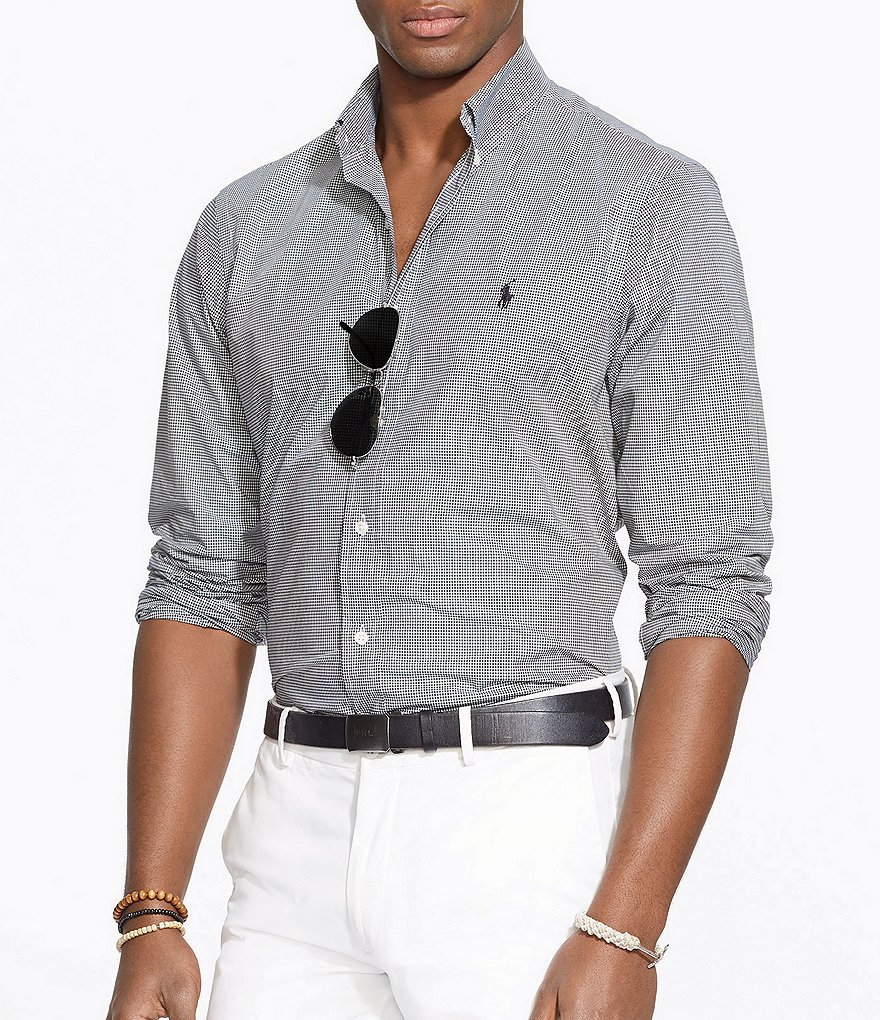 Polo Ralph Lauren Big & Tall Checked Poplin Shirt