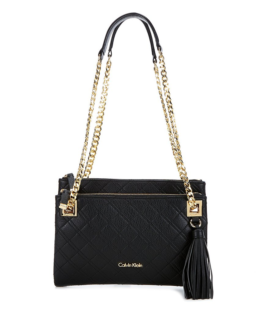 Calvin Klein Quilted Pebble Cross-Body Bag