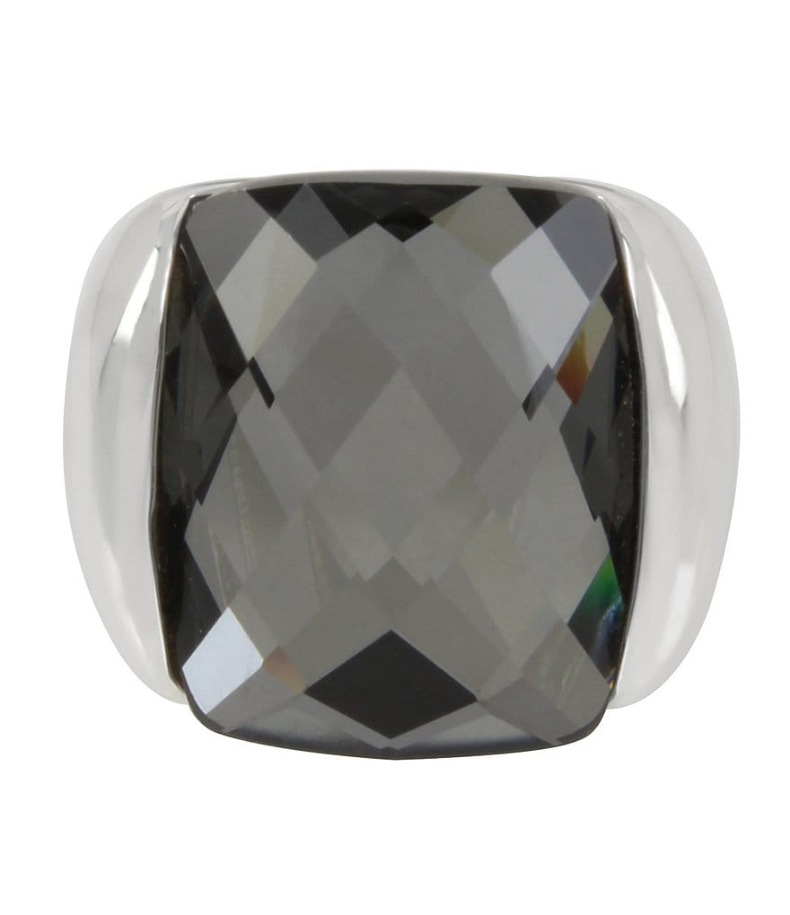 Robert Lee Morris Soho Faceted Stone Sculptural Ring