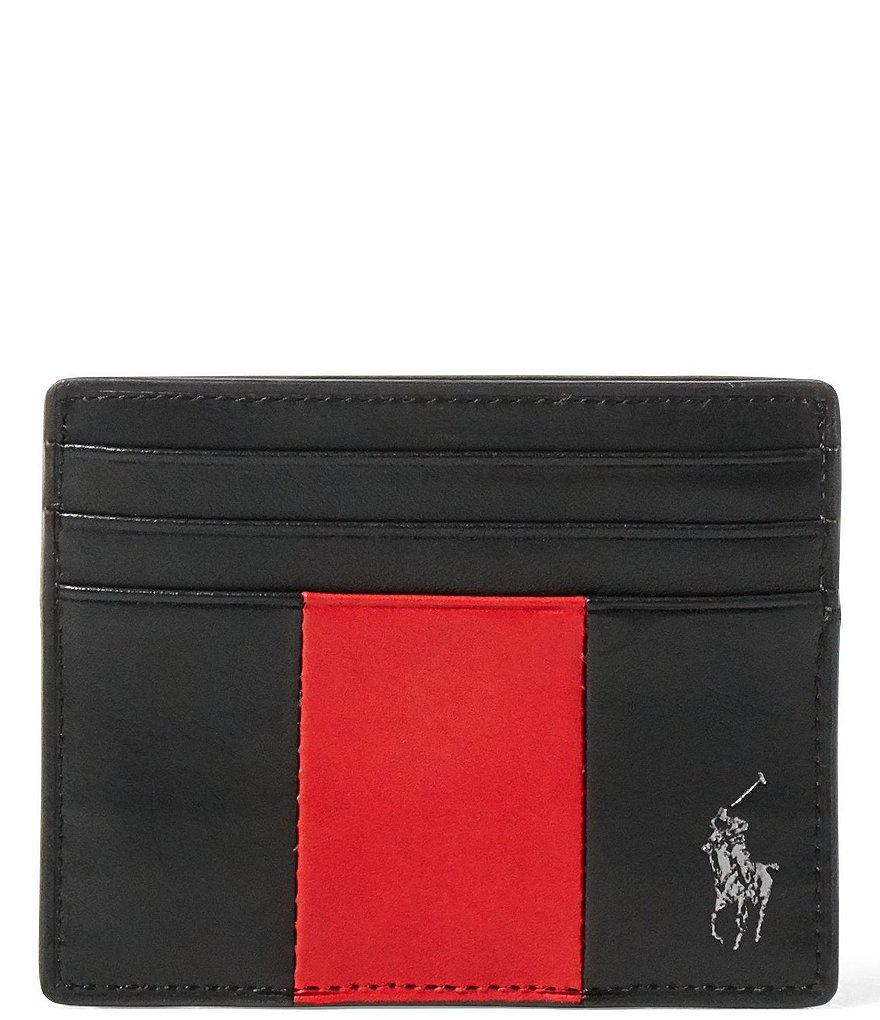 Polo Ralph Lauren Racing Stripe Card Case