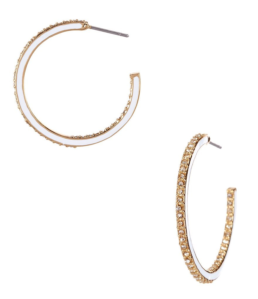 kate spade new york Shine On Hoop Earrings
