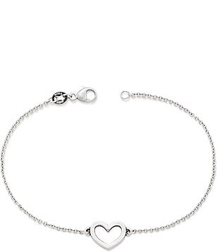 James Avery Petite Heart Link Bracelet