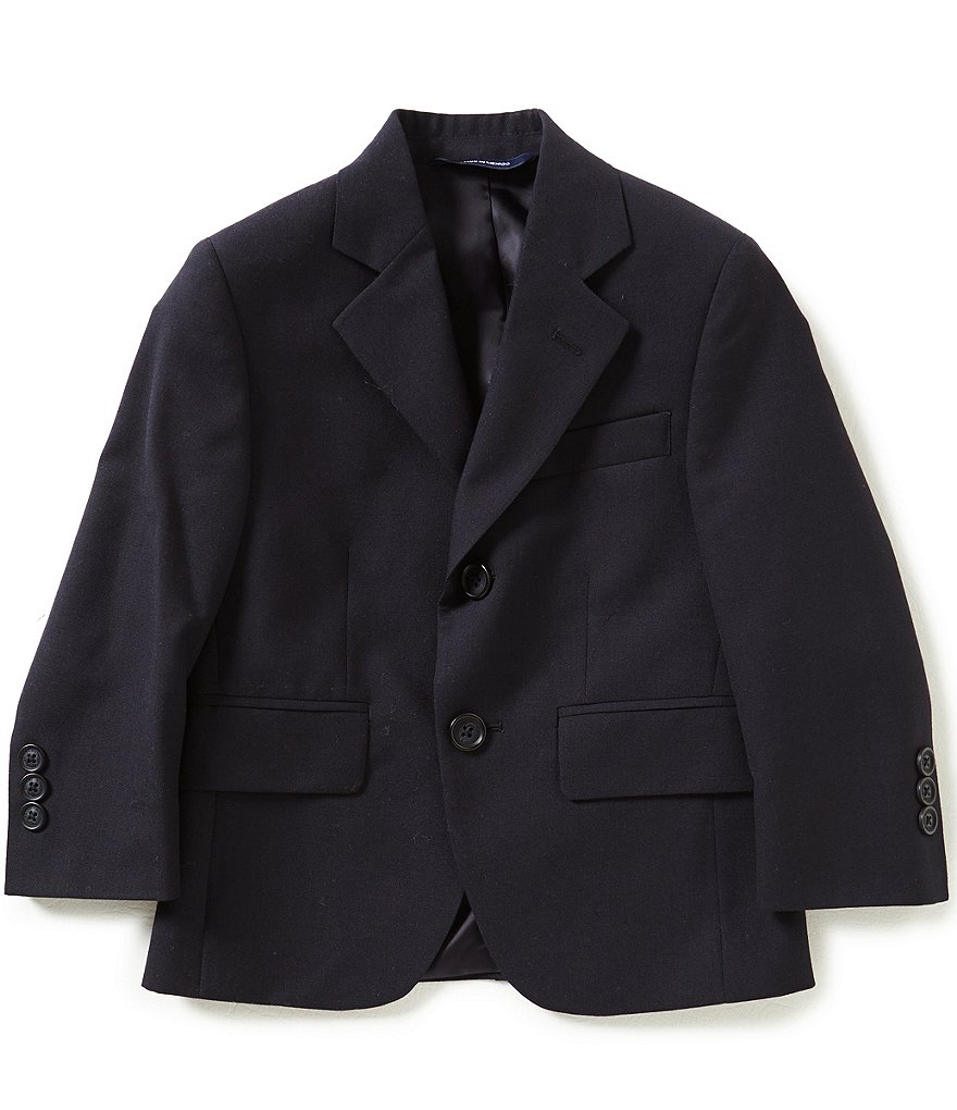 Brooks Brothers Little/Big Boys 4-12 Wrinkle-Resistant Stretch Two-Button Suit Jacket