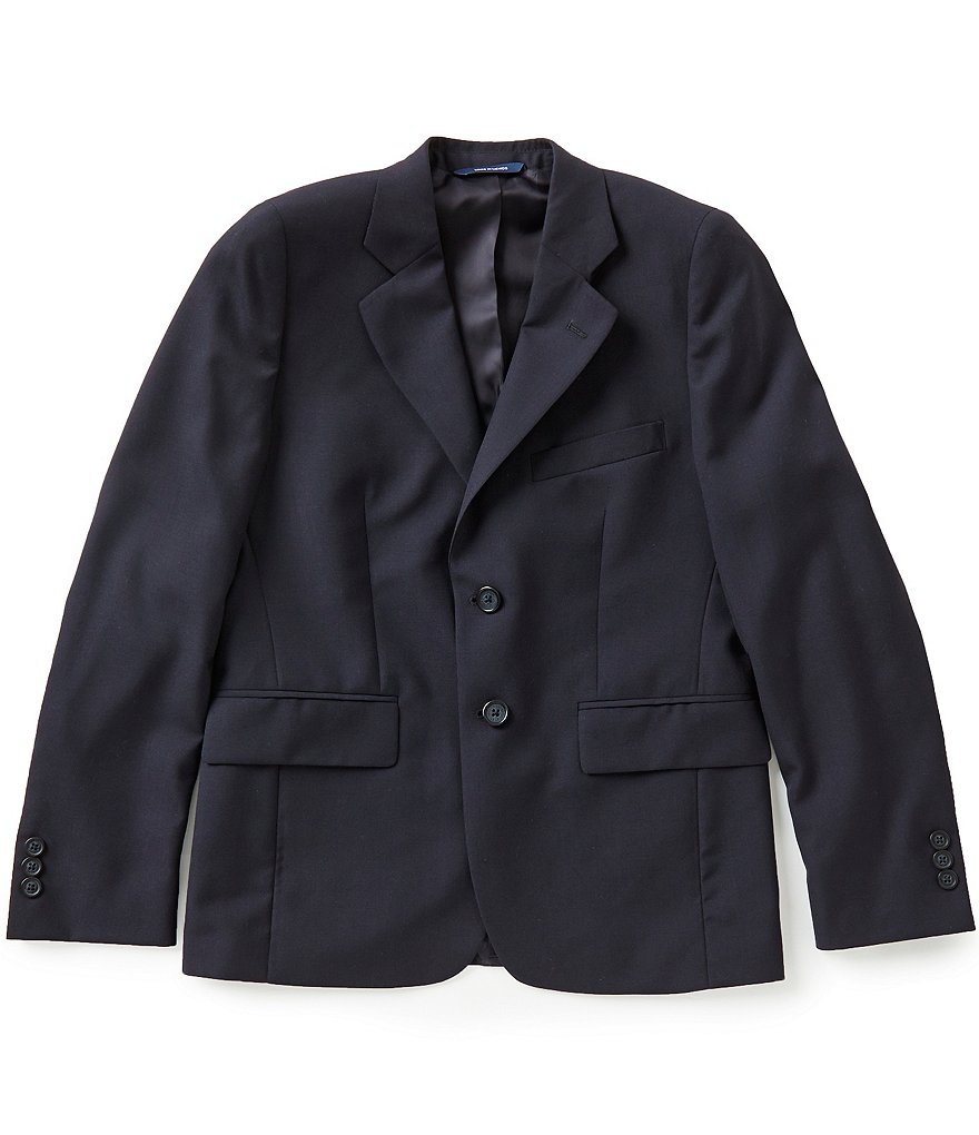 Brooks Brothers Big Boys 14-20 Wrinkle-Resistant Stretch Two-Button Suit Jacket