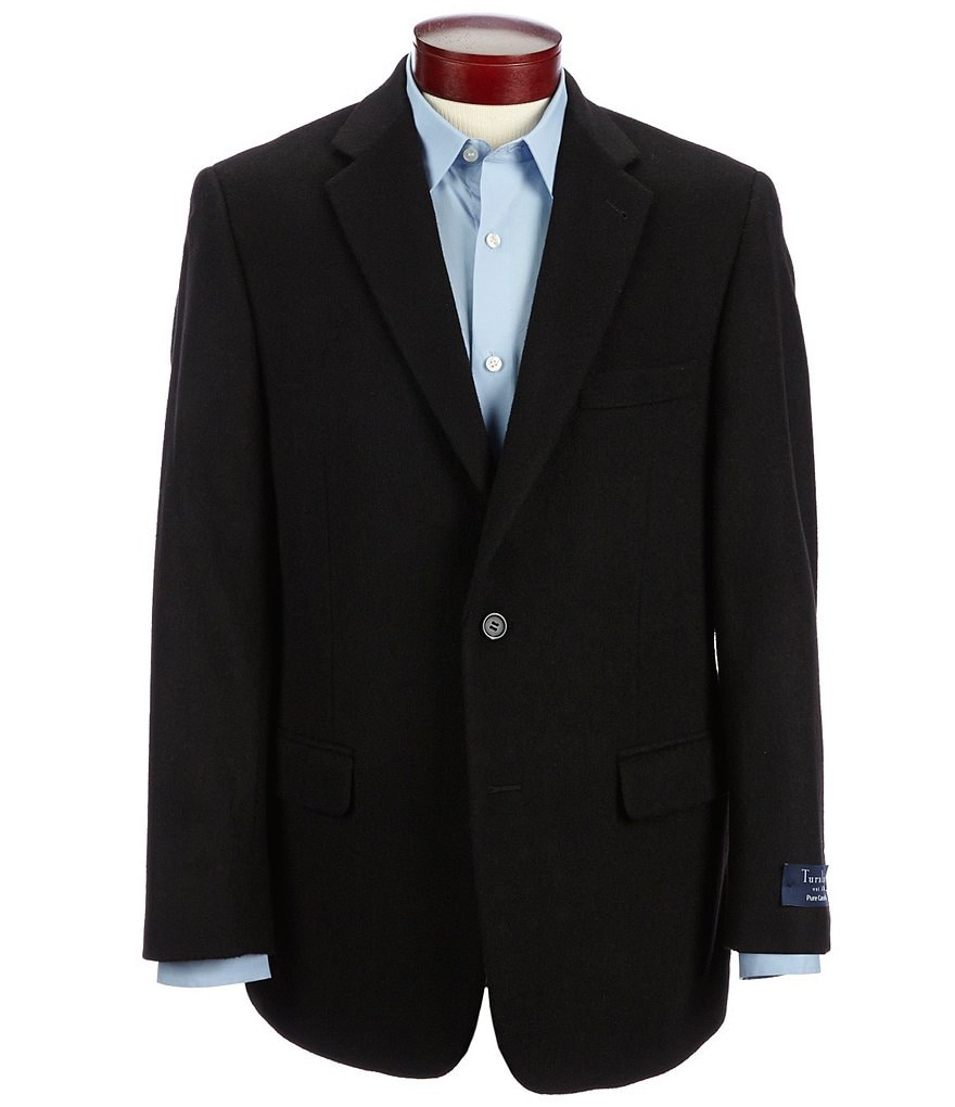 Turnbury Camel Hair Single-Breasted Blazer