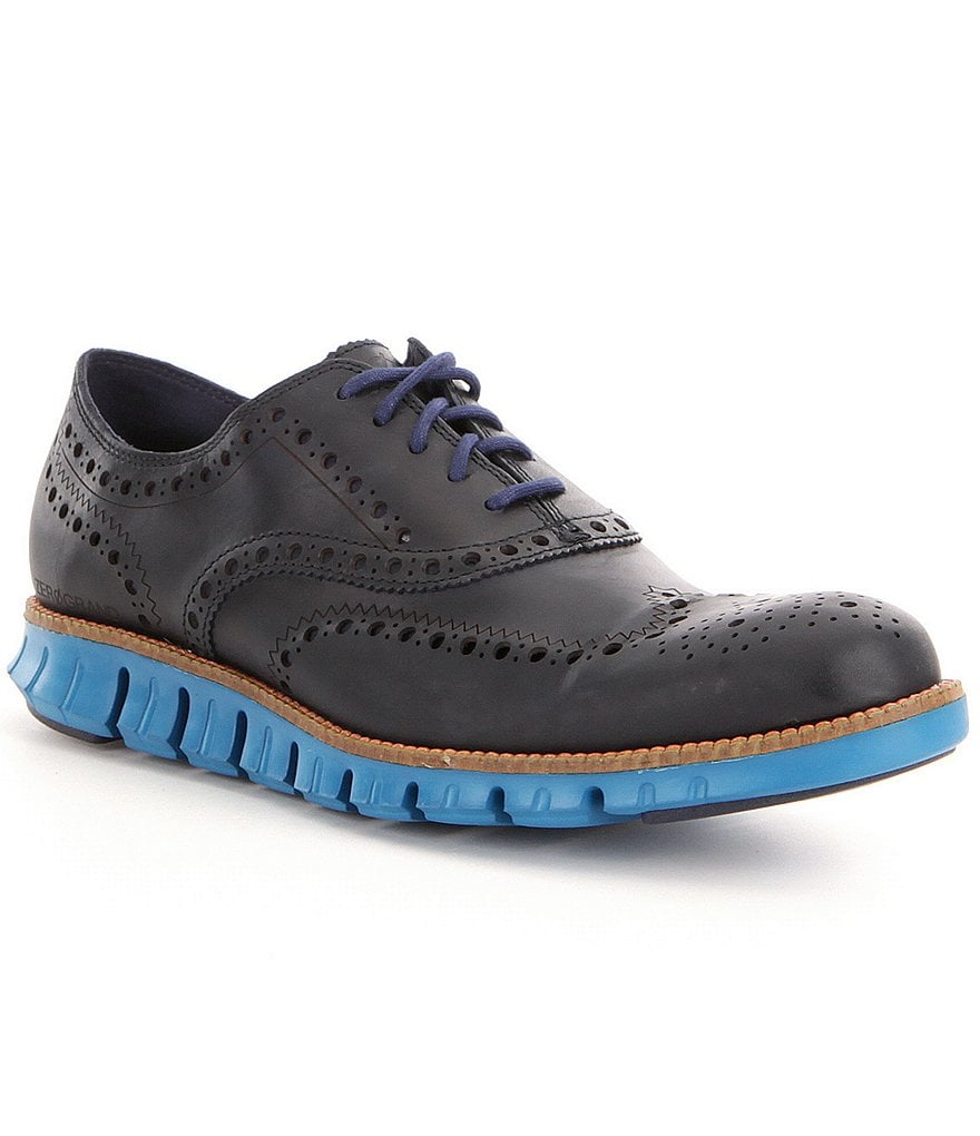 Cole Haan Men´s Zerogrand Wingtip Leather Oxfords