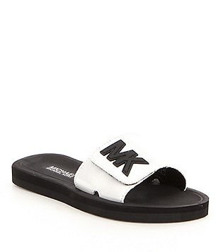 MICHAEL Michael Kors Girl´s Eli Slip-On Rubber Slide