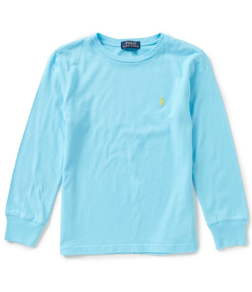 Ralph Lauren Childrenswear Little Boys 2T-7 Long-Sleeve Jersey Tee