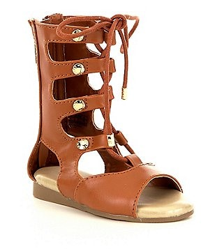MICHAEL Michael Kors Girl´s Demi Carly Lace-Up Gladiator Sandals