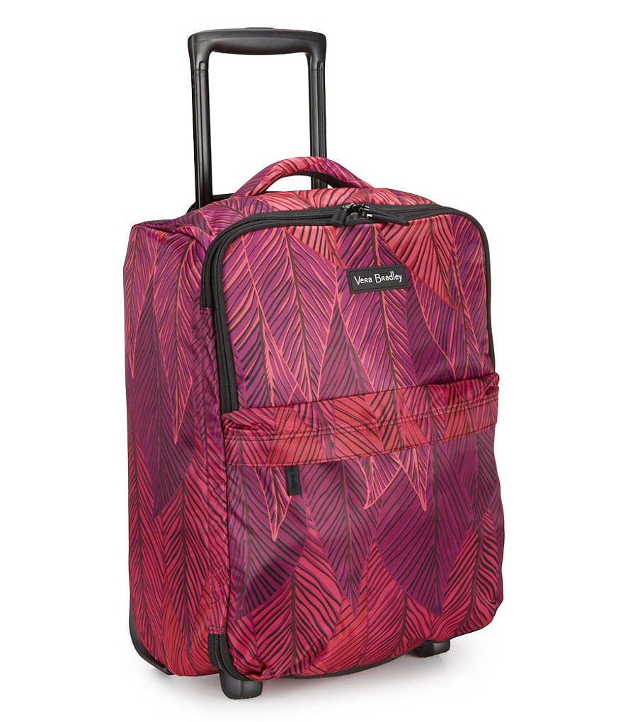 Vera Bradley Small Foldable Carry-On Roller