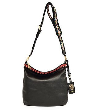 Tommy Bahama Amelia Cross-Body Bag with Embroidered Guitar Strap
