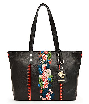 Tommy Bahama Amelia Embroidered Tote