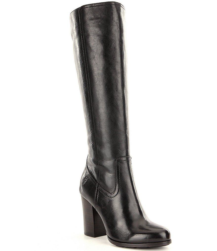 Frye Parker Antiqued Leather Tall Boots